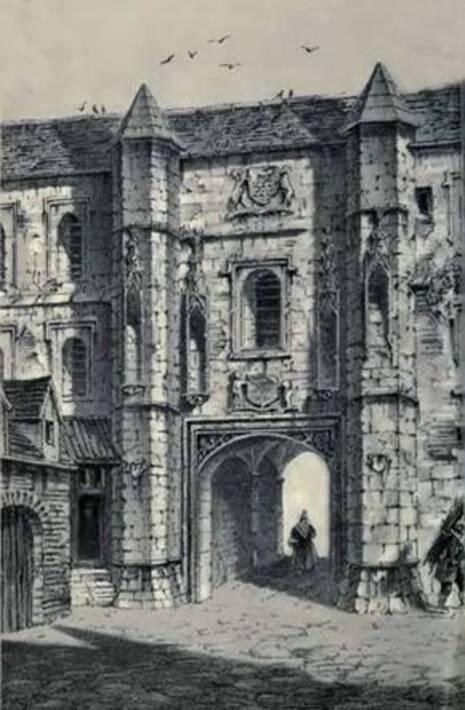 ... des Boucheries au portail de la Bourse des marchands de l Estaple ou  porte de Guise. La partie comprise entre cette porte et la rue Royale est  toujours ... 6ccabf4f412b