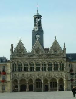 Le carillon de Saint-Quentin (France)