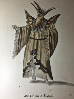 Illustration: Personnage de l'opéra Alceste