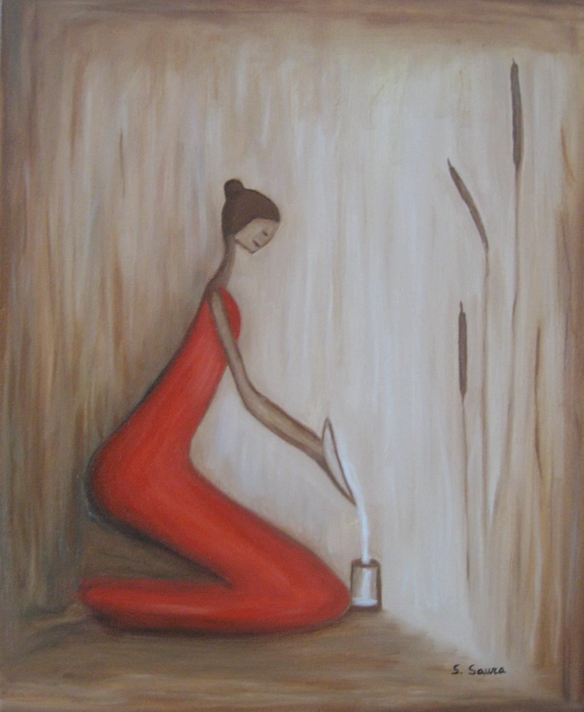 huiles - plaisir de peindre - Peinture A L Eau Sur Peinture A L Huile
