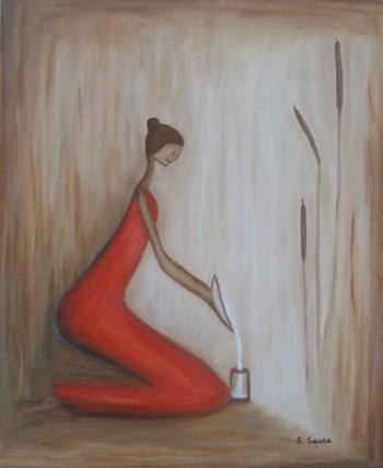 Peinture à l'Huile L'eau 2