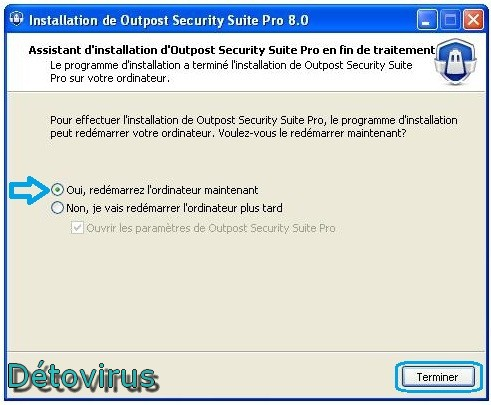 Outpost Security Suite Pro 8.0 - Licence 1 an gratuit