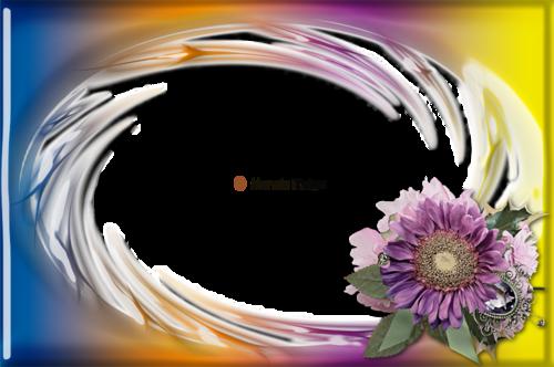 Cadre Fleuri 2982