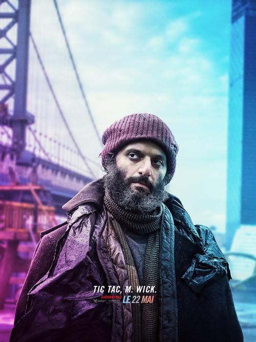 JOHN WICK PARABELLUM [Nouvelle bande-annonce et affiches personnages] avec Keanu Reeves ! Le 22 mai 2019 au cinéma