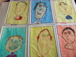 """Projet """"les portraits"""""""