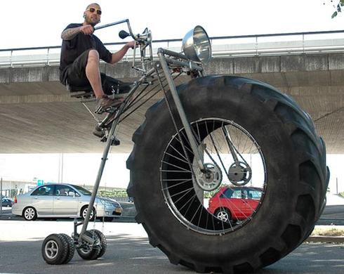 vélo spectaculaire monstre