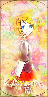 """Avatar """"Kagamine Rin"""""""