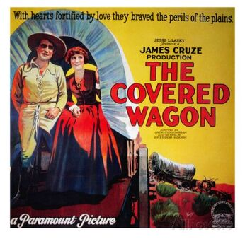 THE COVERED WAGON BOX OFFICE 1923