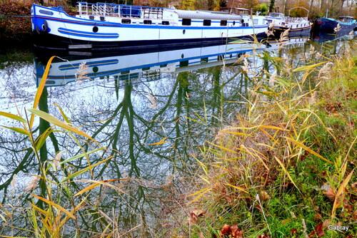 Le Canal du Midi en décembre
