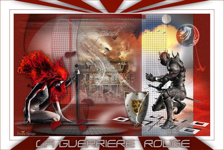 La guerrière rouge