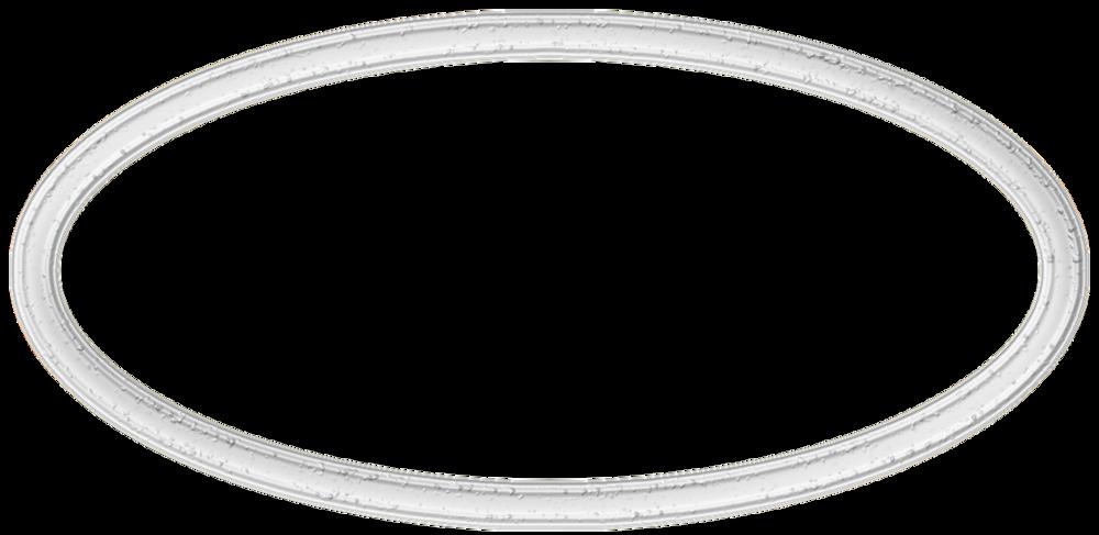 Cadres ovales texture vintage