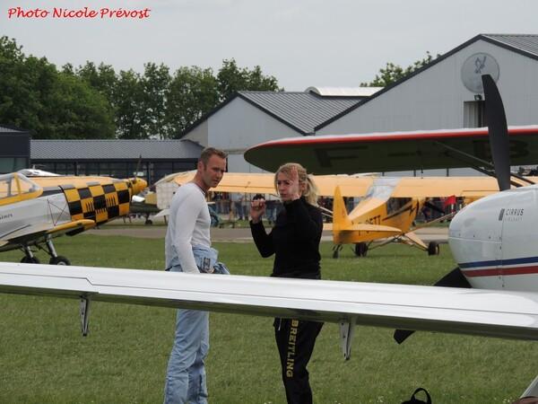 Le premier meeting aérien 2016 de Nicole Prévost...