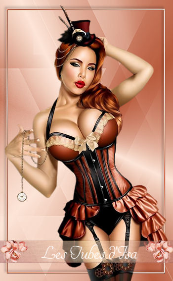 ST0013 - Tube femme steampunk