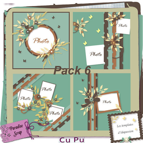 Pack templates 6