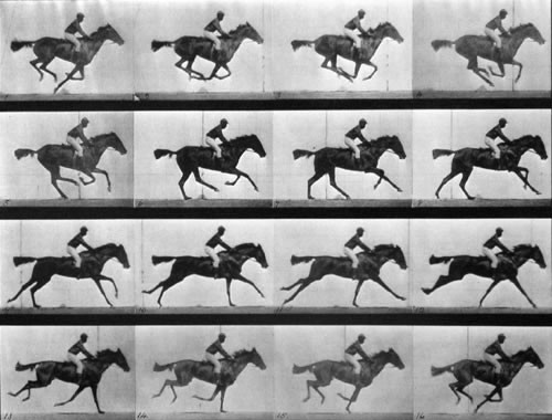 Invention du Cinéma - d'Eadweard Muybridge