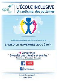 Affiche Ecole Inclusive 2020