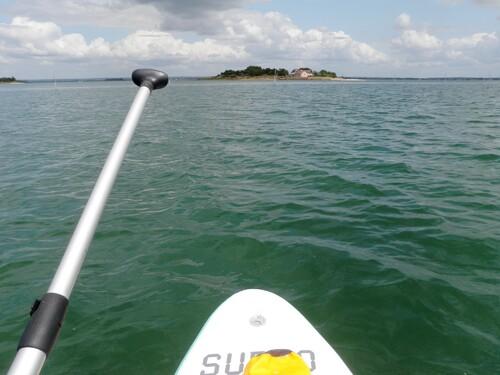 Iluric et Île aux Oeufs en SUP