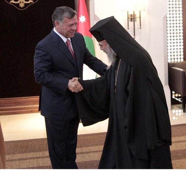 Le roi et les chrétiens arabes