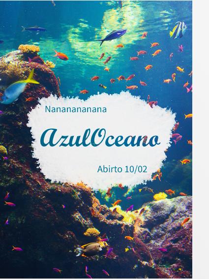 Essais affiches #AzulOceano