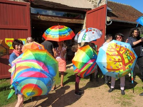 Jongleu(r)se(s) de parapluies !