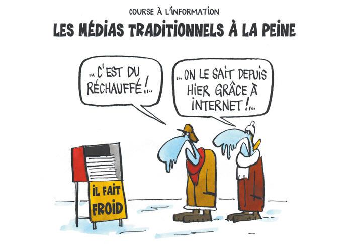 La place des médias numériques