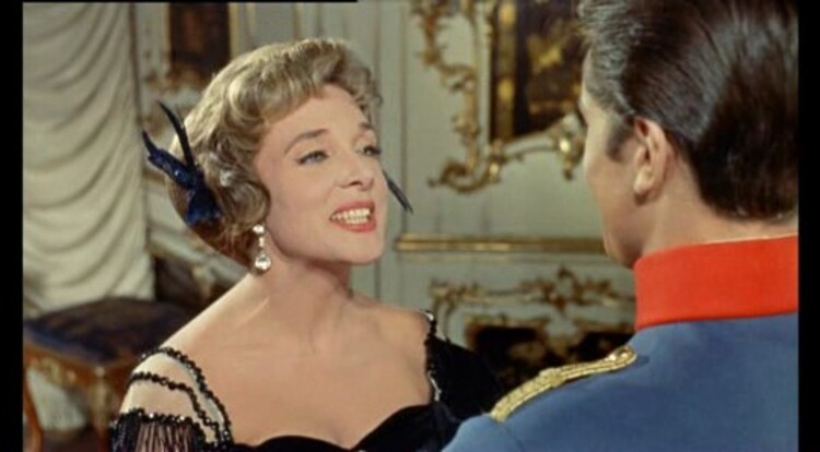 ROMY SCHNEIDER- ALAIN DELON - CHRISTINE - 1958
