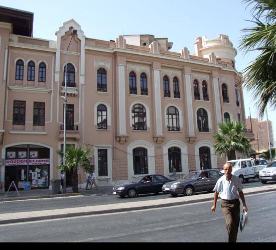 banque dans immeuble historique