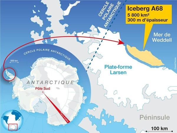 Sous l'Antarctique, un monde inconnu se révèle...