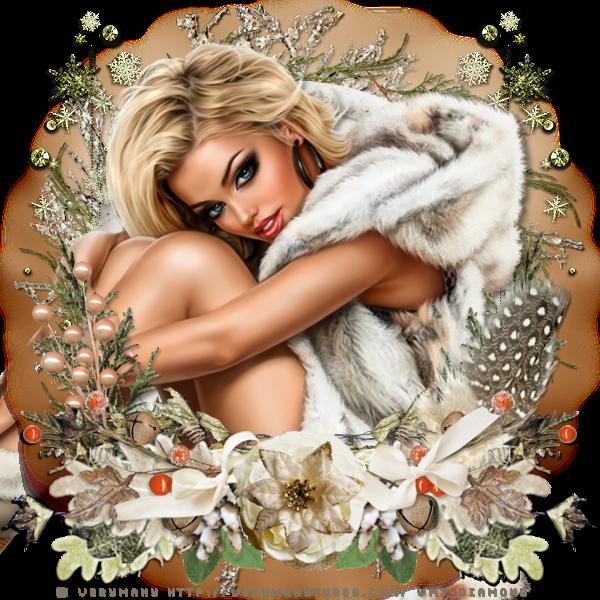 """Tutoriel """"Winter Thoughts"""" de Zisca design"""