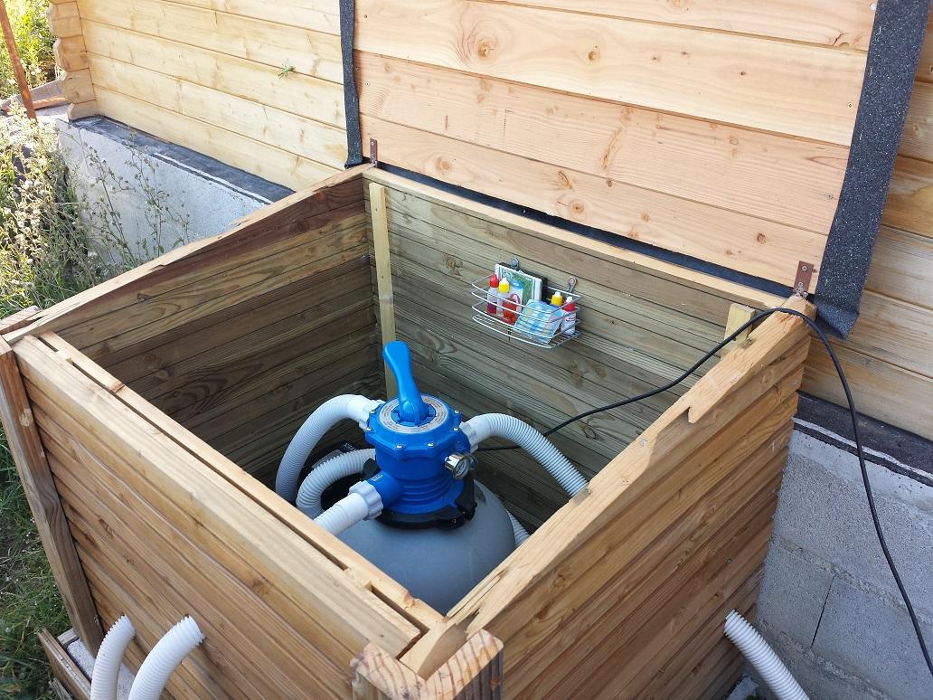 Coffre pour pompe de piscine peritus - Pompe de filtrage pour piscine ...