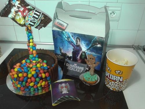 gâteau gardiens de la galaxie anniversaire