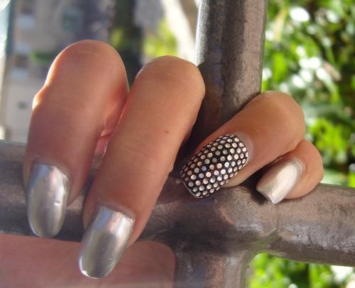 Nail art : Fer forgé - stickers intégraux