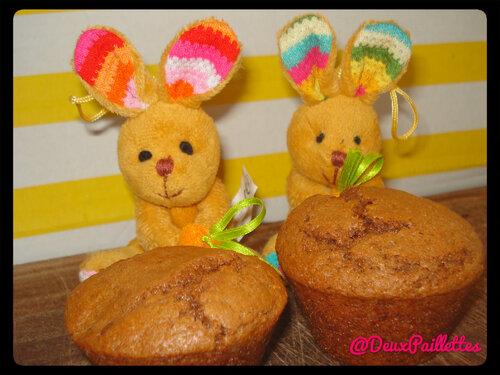 Les muffins de Pâques en ... chocolat !