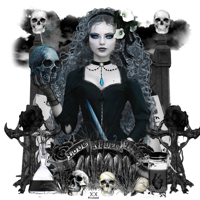 "Tutoriel ""Halloween 2"" de Liligraph chez Delire2scrap"