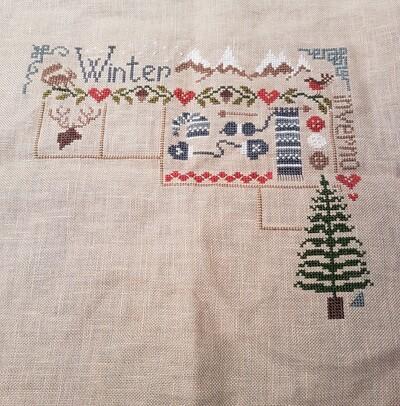 Sal Jardin Privé - l'hiver
