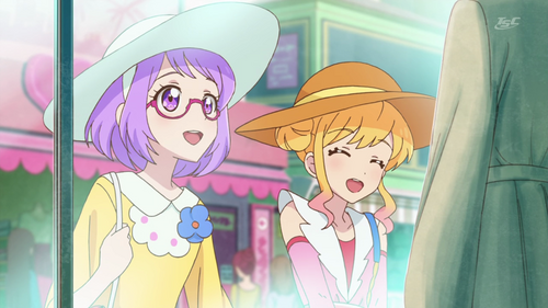 Aikatsu Stars 72 - Shopping entre copines