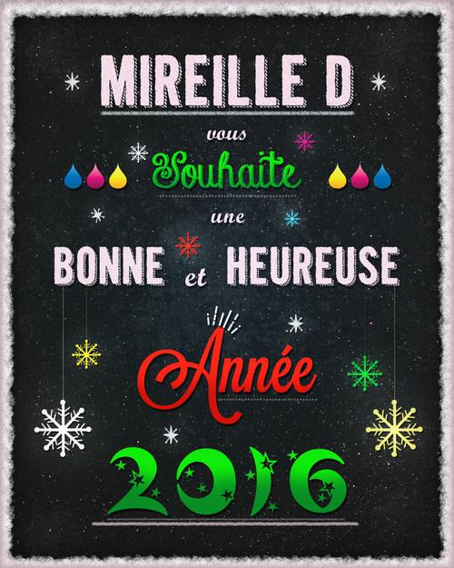 Bonne et Heureuse Année 2016!