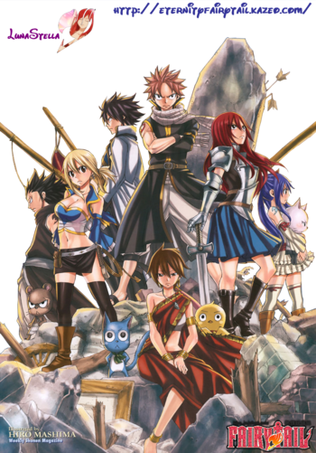 Groupe fairy tail film png par LunaStella