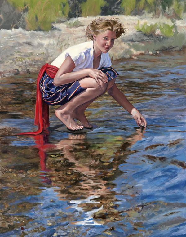 Peinture de : Marie Jane Q. Cross