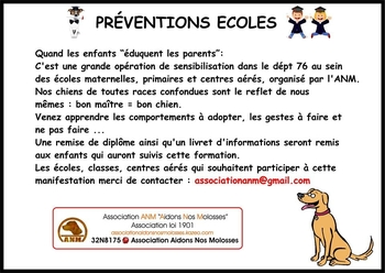 ecole prevention