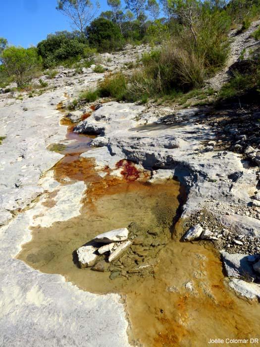 Le ruisseau qui saigne
