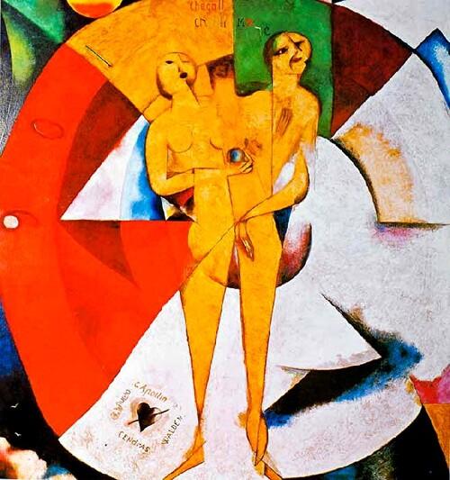 Chagall / 4 /             1912 : le mal du pays ...