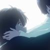 x08 Rikka flying to Yuuta\'s arms