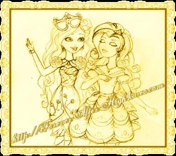 briar beauty & Isabella beauty (en fait c'est rarity xD)