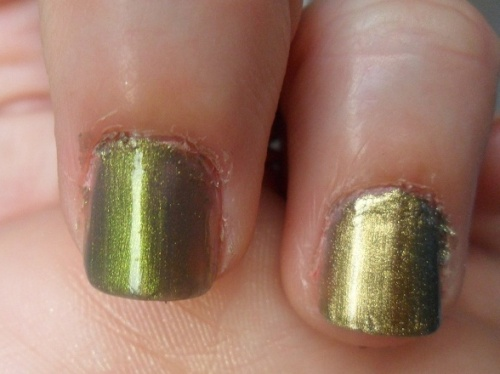 Chanel 531 Péridot VG Models Own Golden Green Beetle Juice