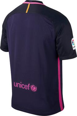 Nouveau Maillot de Exterieur Barcelone pour la saison 2016-2017