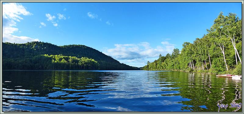 Balade en pédalo sur le Petit Lac Preston - Duhamel - Outaouais - Québec - Canada