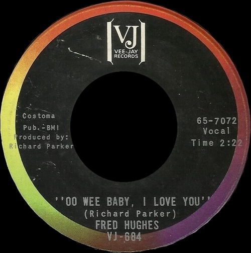 "Fred Hughes : Album "" Baby Boy "" Brunswick Records BL 754157 [ US ]"