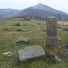 Borne frontière numéro 15 (422 m), à Erintsu ou Erenzazouco-gaïna (1er sommet)
