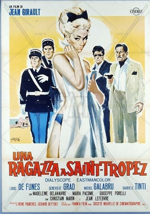 LE GENDARME DE SAINT TROPEZ -  LOUIS DE FUNES BOX OFFICE 1964